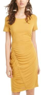 Ultra Flirt Juniors' Cinch-Skirt Dress