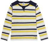 Petit Bateau Boys striped T-shirt