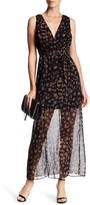 BCBGeneration Surplice Maxi Dress