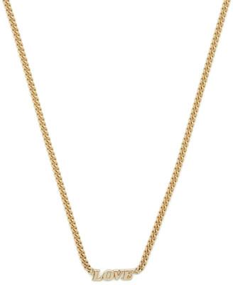 Ariel Gordon Carmella 14K Yellow-Gold Name It Necklace