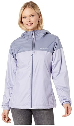 Columbia Flash Forward Lined Windbreaker (Nocturnal/Dark Nocturnal/Fathom Blue) Women's Coat