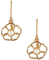 Kate Spade Sunset Blossoms Faux-Pearl Floral Drop Earrings