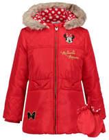 Disney George Minnie Mouse Padded Coat