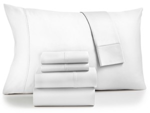 Fairfield Square Collection Sydney 6-Pc. Extra Deep Pocket Queen Sheet Set, 825-Thread Count Egyptian Blend, Created for Macy's Bedding