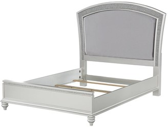 ACME Furniture ACME Maverick Eastern King Bed in Fabric & Platinum