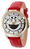 Sesame Street Unisex Unisex Two Tone Alloy Watch - Red