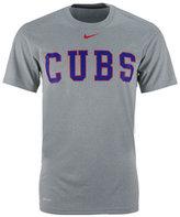 Nike Men's Chicago Cubs Legend Wordmark T-Shirt