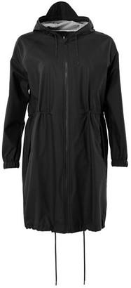 Rains Long W Jacket Black - S/M