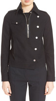 Anthony Vaccarello Short Trench Coat