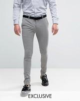 Heart & Dagger Super Skinny Gingham Check Trouser
