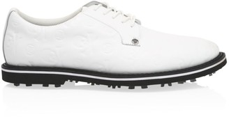 G/Fore Gallivanter Embossed Leather Golf Shoes