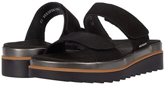 Mephisto Dania (Black Bucksoft) Women's Shoes