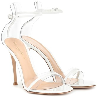 Gianvito Rossi G-string 105 patent-leather sandals