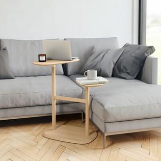 Umbra Swivo Solid Wood Floor Shelf End Table Color: Natural