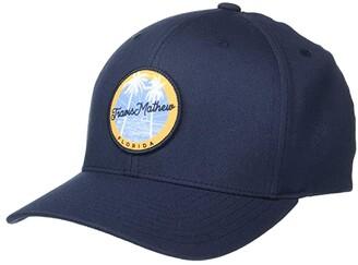 Travis Mathew Stingray Shuffle Flex Hat (Florida) (Blue Nights) Caps