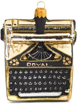 Harrods Typewriter Tree Decoration