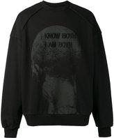 Juun.J embroidered sweatshirt - men - Cotton - M