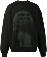 Juun.J embroidered sweatshirt - men - Cotton - S