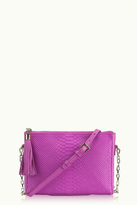 GiGi New York Python Clutch Crossbody