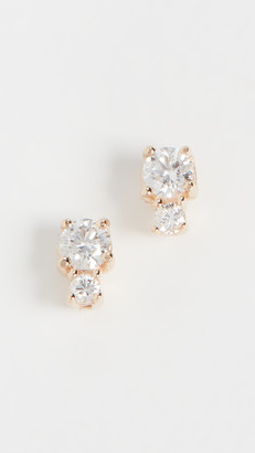 Ariel Gordon 14k Diamond Spotlight Studs