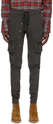 Greg Lauren Grey Army Cargo Pants