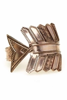 House Of Harlow Antiqued Arrow Cuff in Rose Gold