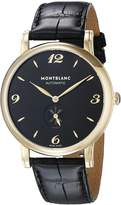 Montblanc Men's 107340 Star Analog Display Swiss Automatic Watch