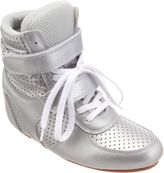 Comme des Garcons Perforated Wedge Sneaker