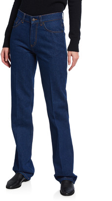 The Row Carlton Straight-Leg Jeans