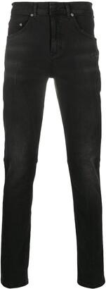 Neil Barrett Distressed Skinny Fit Jeans