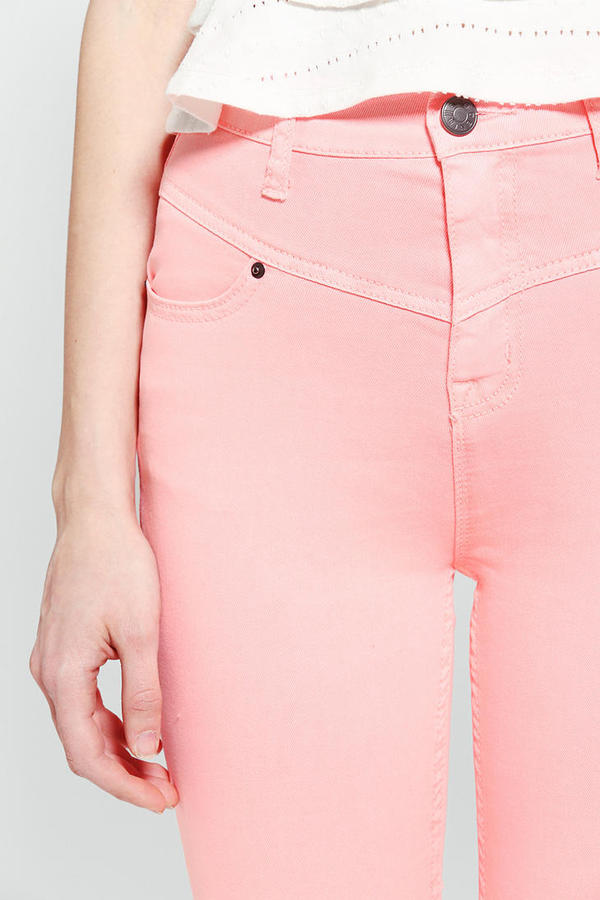 BDG High-Rise Seamed Jean - Neon Pink