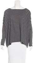 Demy Lee Striped Dolman Top