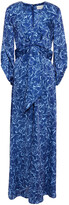 Thumbnail for your product : Sachin + Babi Sherri Belted Floral-print Crepon Gown