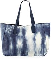 Derek Lam 10 Crosby Bond East West Tote Bag, Blue/White