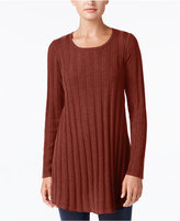 Style&Co. Style & Co Ribbed Knit Tunic, Created for Macy's