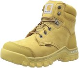 "Carhartt Men's CMF6056 Rugflx 6""Wheat Soft Work Boot"