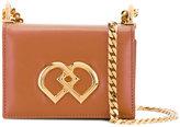 DSQUARED2 mini DD crossbody bag - women - Calf Leather/Brass - One Size