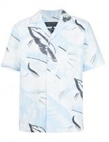 Rag & Bone printed shortsleeved shirt