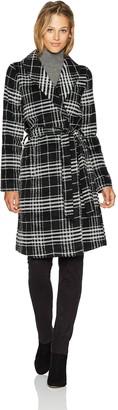 BB Dakota Women's Kennedi Plaid Coat