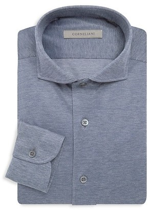 Corneliani Jersey Pique Dress Shirt