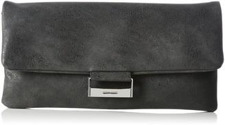 Gerry Weber Be Different 4080003238 Women's Clutches 28 x 14 x 1 cm (W x H x D) Grey Size: 28x14x1