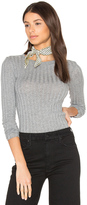 Enza Costa Cashmere Rib Long Sleeve Tee
