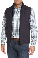 Peter Millar Men's Caledonia Quilted Wool Vest