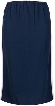 Marni High-Waisted Stripe-Detail Skirt
