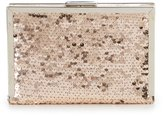 Kate Landry Sequined Frame Clutch
