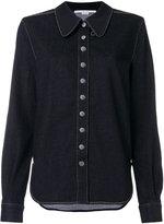 Stella McCartney embellished button shirt - women - Cotton/Polyester/Spandex/Elastane - 38