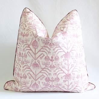 Zak and Fox Custom Pillow, Khotan Custom Pillow, Designer Pillow, Decorative Throw Pillow, DiamondheadPillow Cover