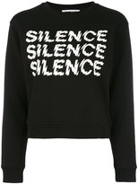 McQ by Alexander McQueen Silence sweatshirt - women - Cotton - XS