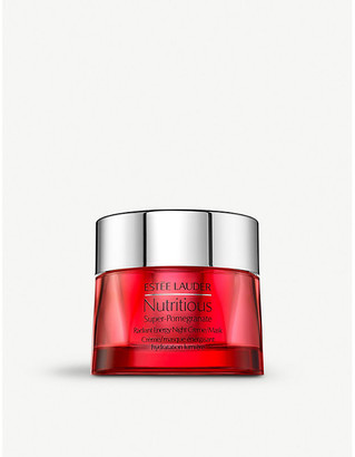 Estee Lauder Nutritious Super-Pomegranate Radiant Energy Night Creme/Mask 50ml