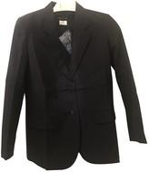 agnès b. Navy Cotton Jacket for Women